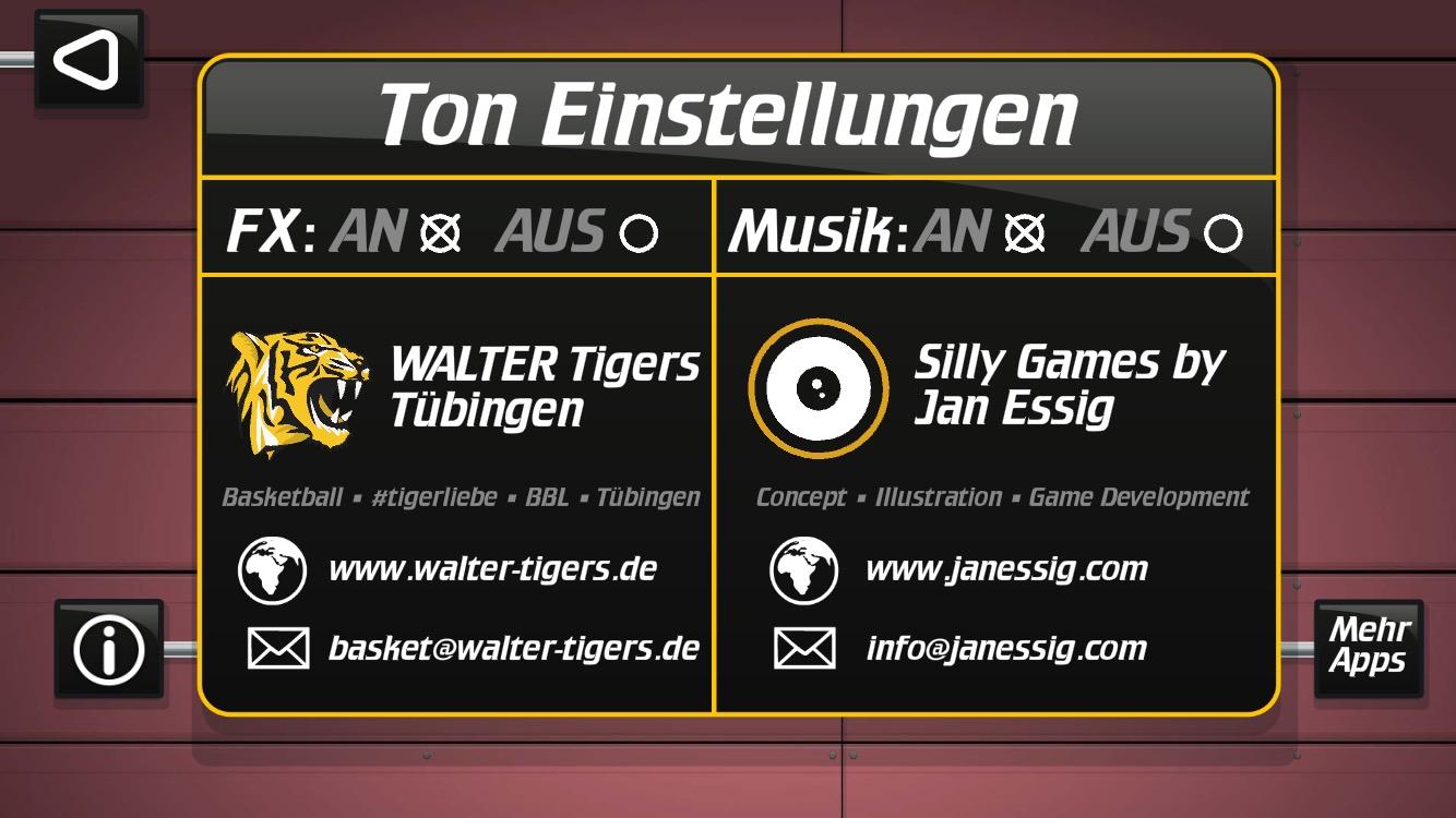 WALTER Tigers Tübingen Show Da Sock!