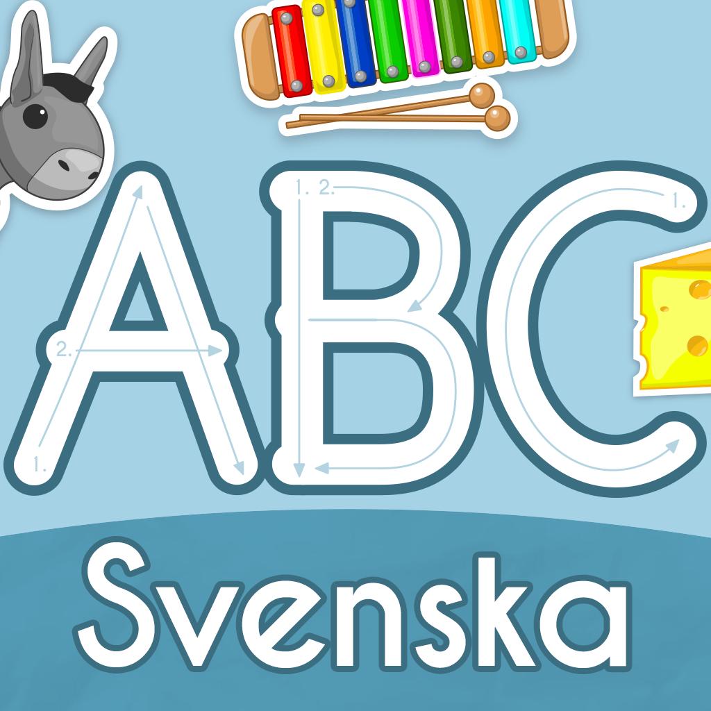 ABC StarterKit: Svenska Lära läsa och skriva bokstäver